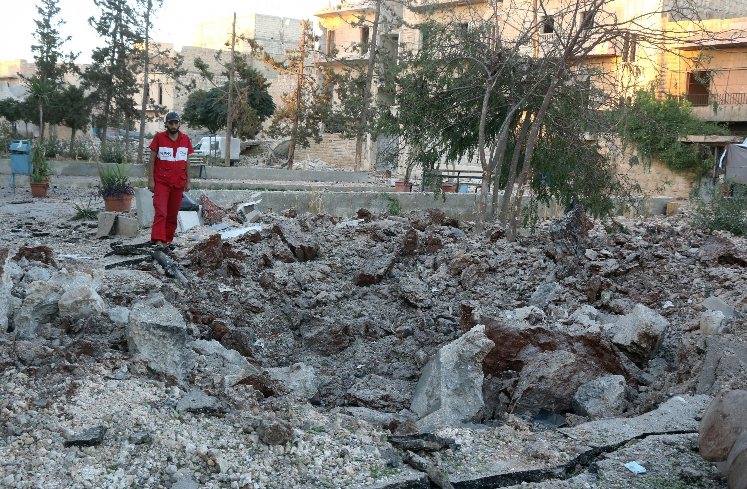 Aleppo medical facility