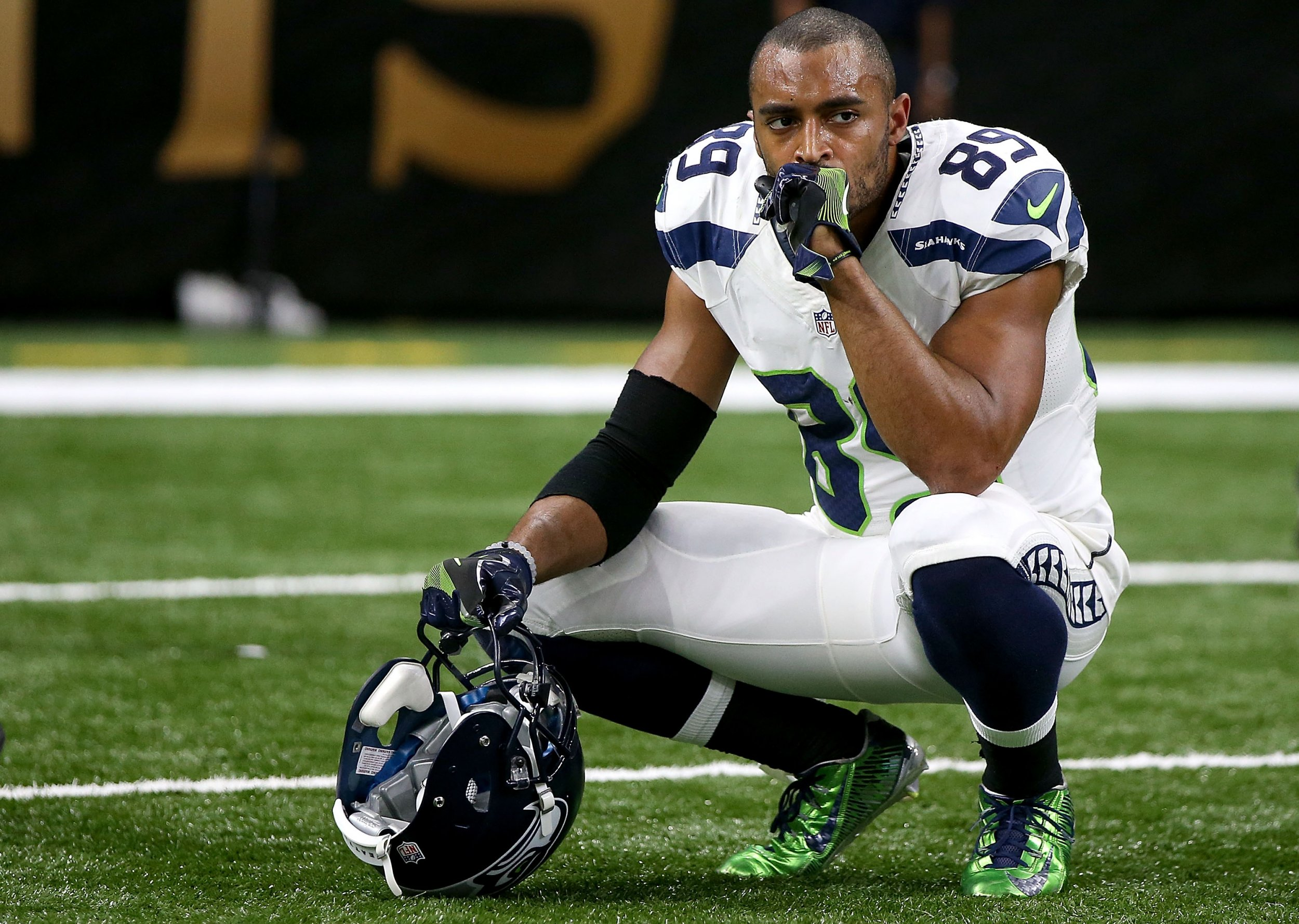 Seattle Seahawks wide receive Doug Baldwin