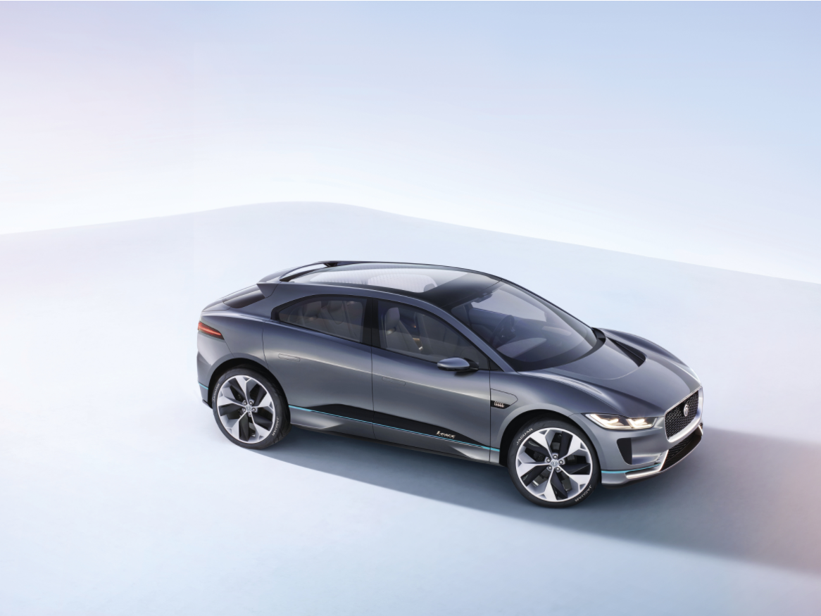 Jaguar Takes On Tesla With First Electric Car