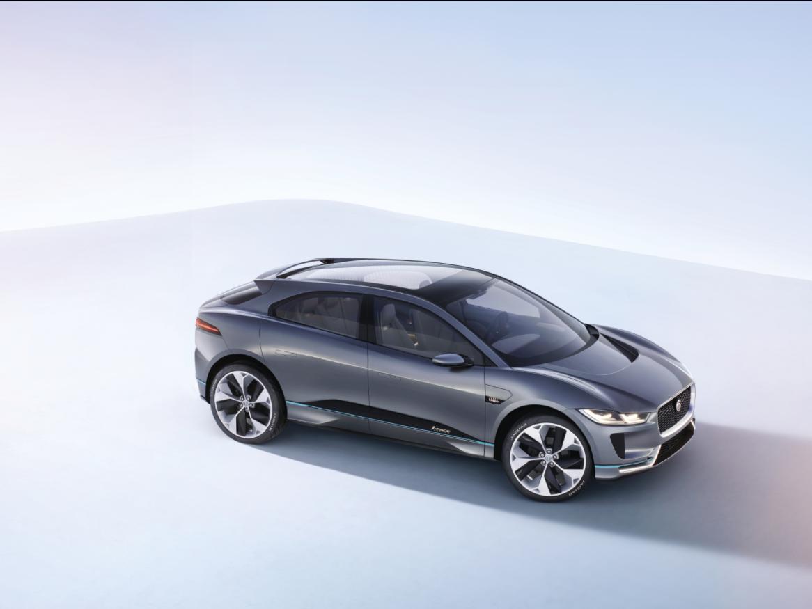 jaguar i-pace electric car tesla