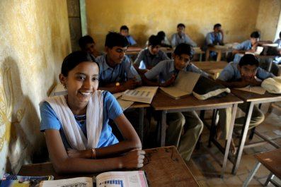 Schoolgirl Rajasthan