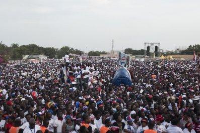 Ghana Nana Akufo-Addo rally