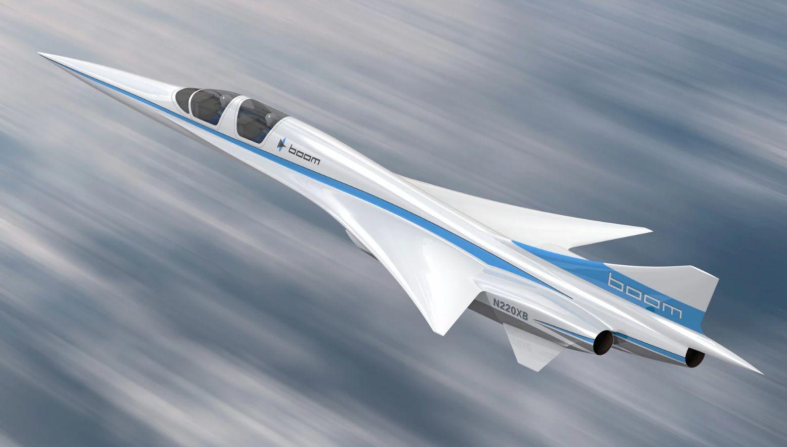 supersonic passenger plane boom concorde