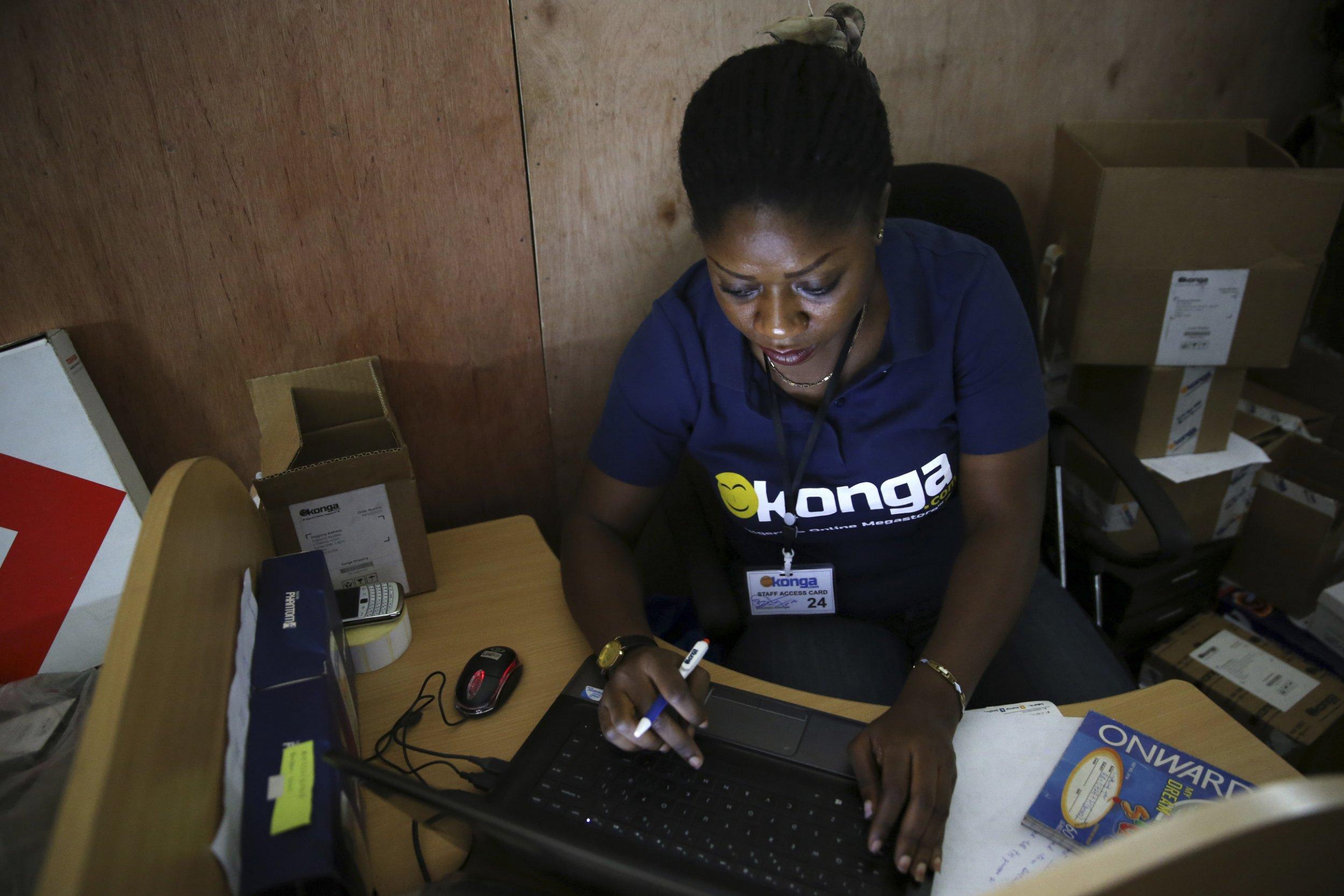 Konga employee
