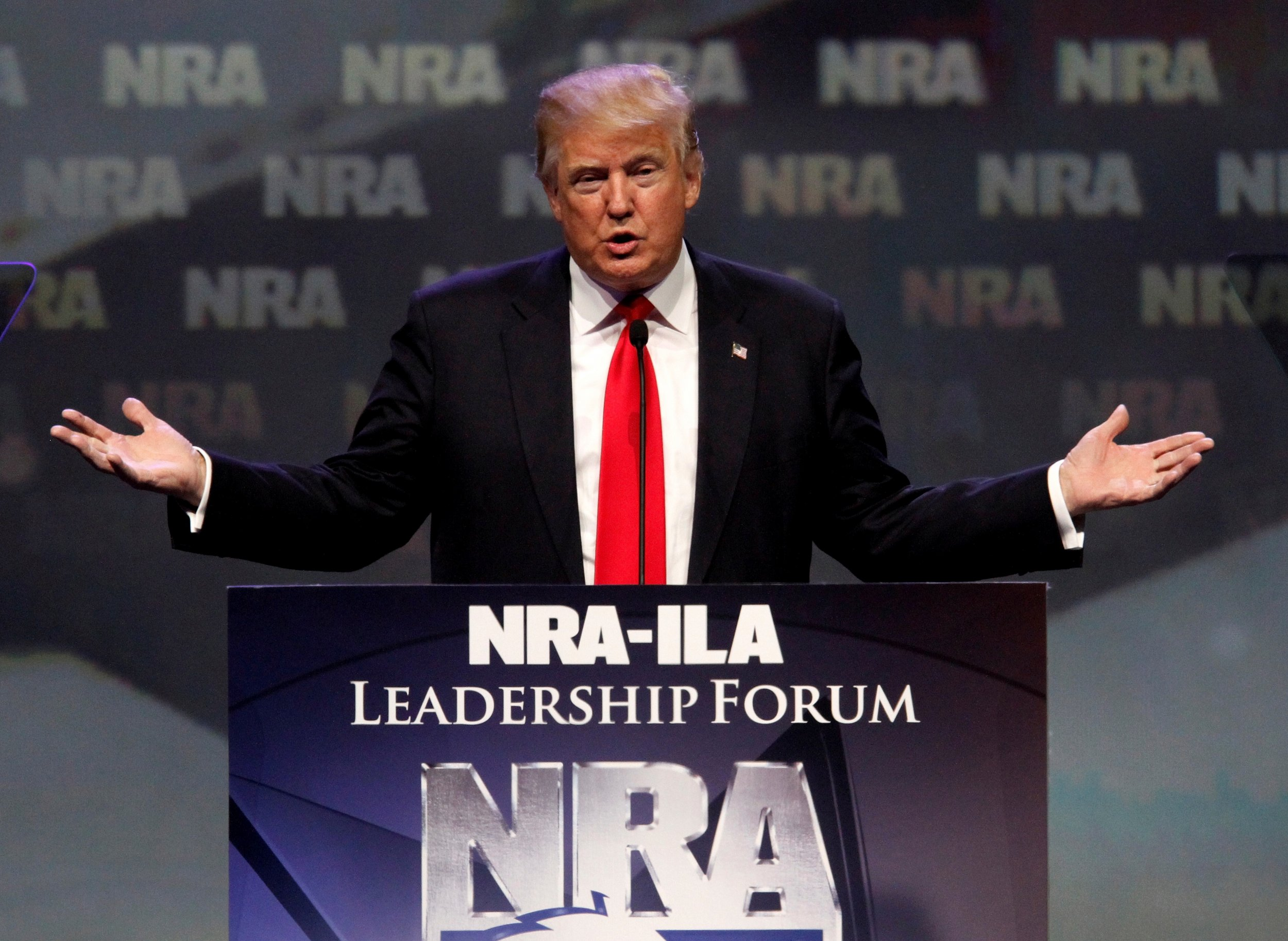 Image result for trump at the nra
