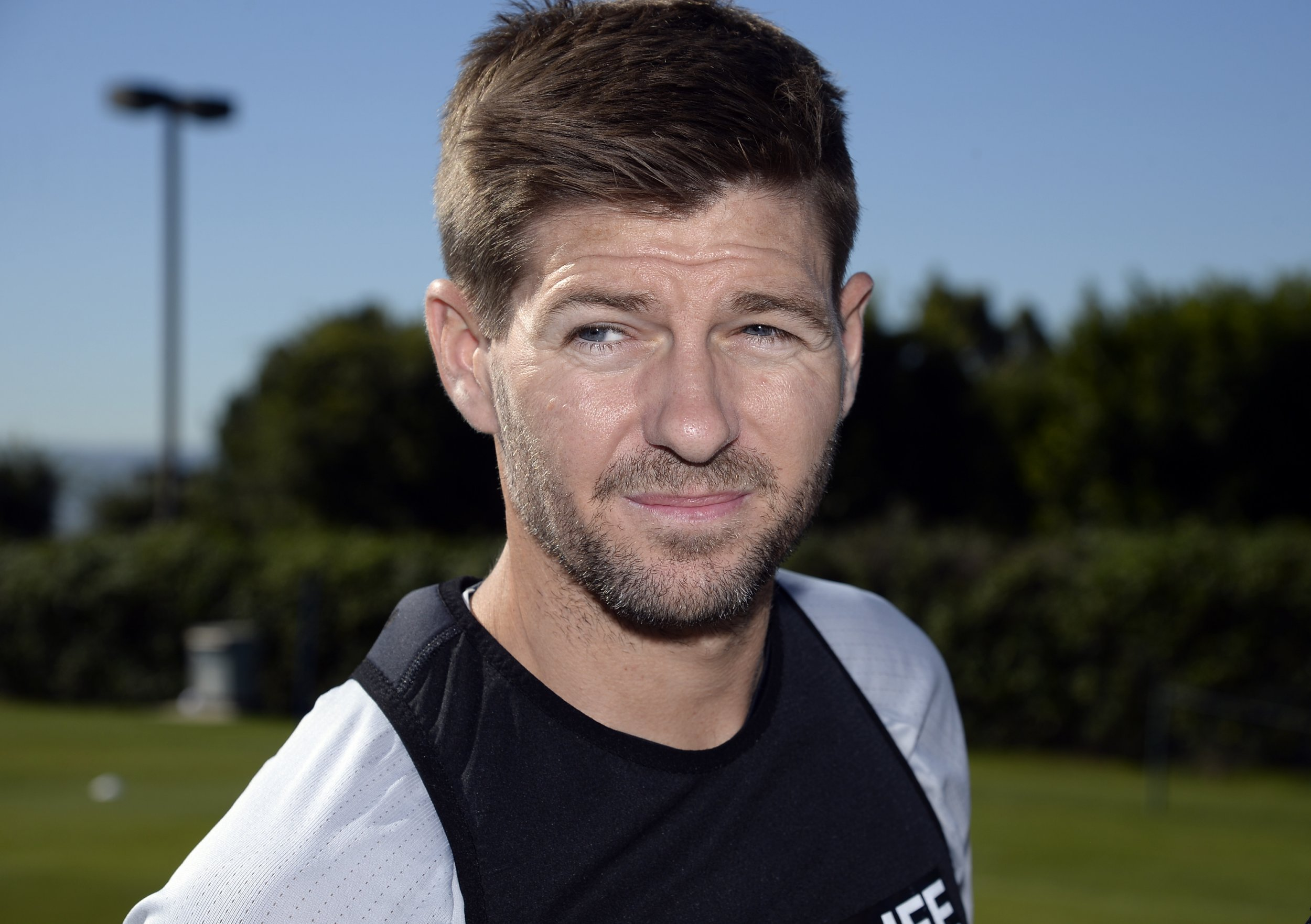 Former Liverpool and England captain Steven Gerrard.