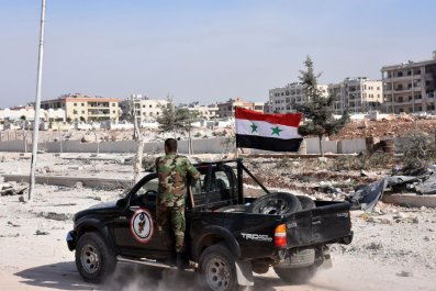 Syrian army vehicle