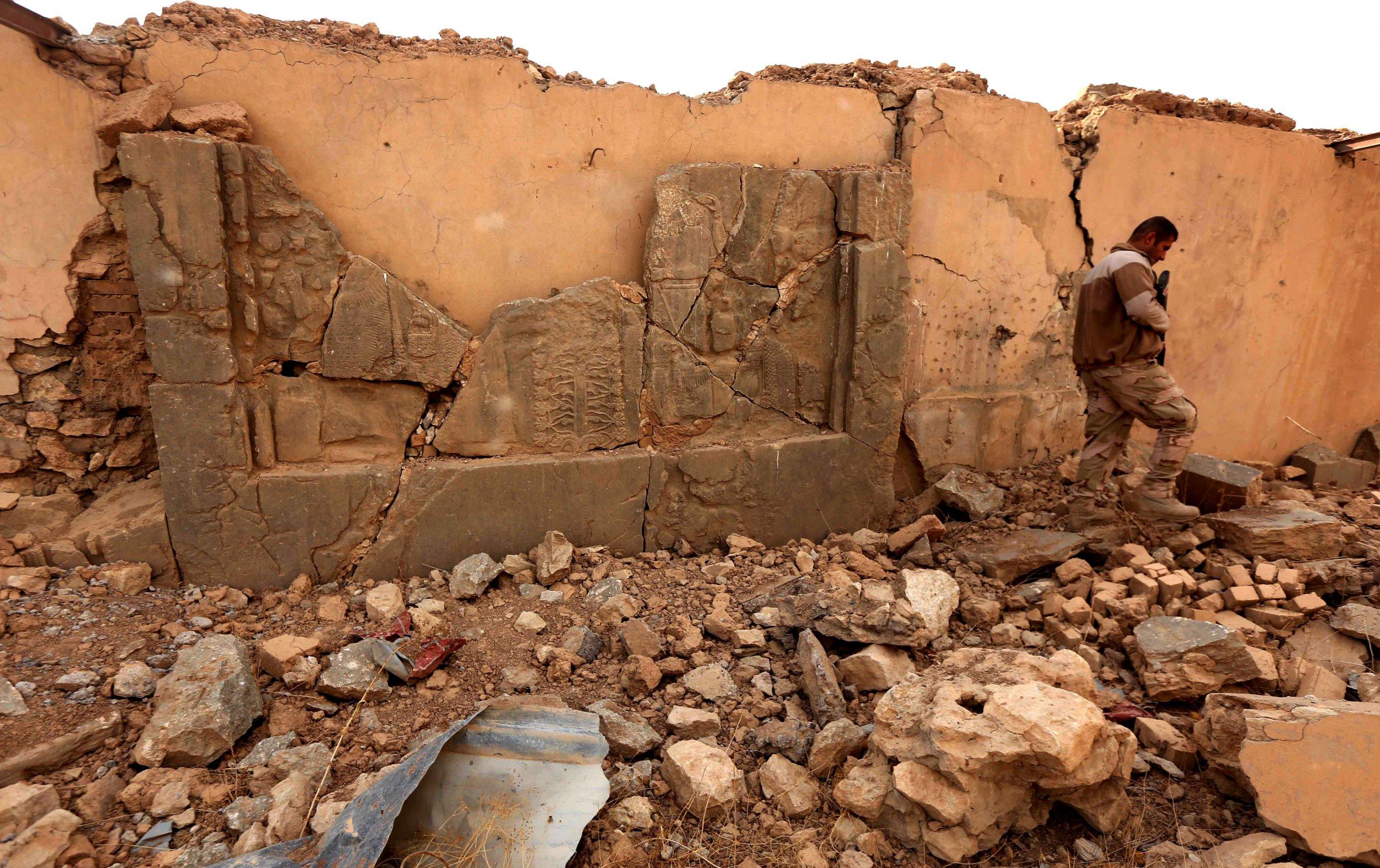 Ancient ruins of Nimrud