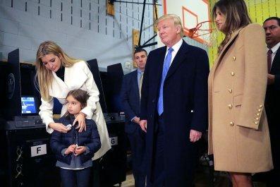 Donald Trump family - Melania, Ivanka, Arabella