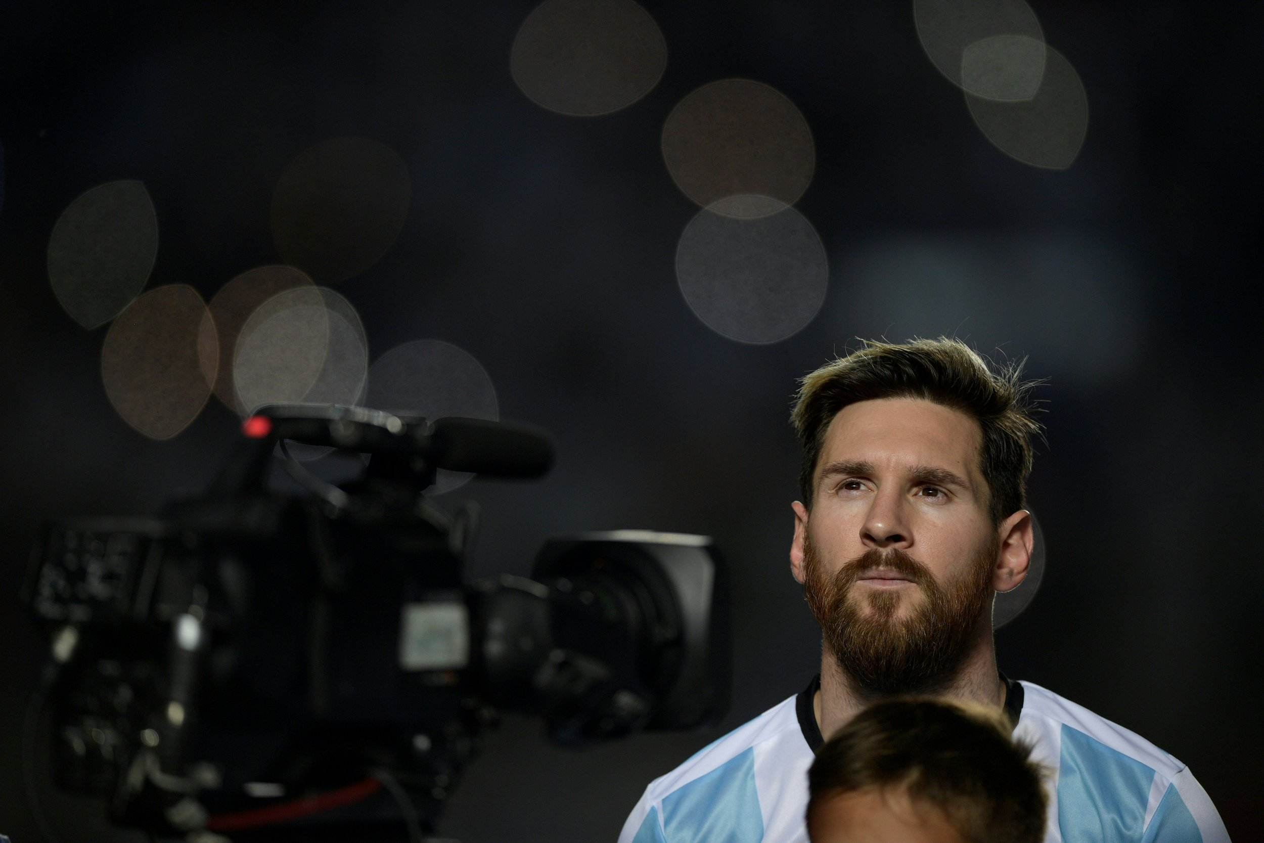 Argentina and Barcelona star Lionel Messi.