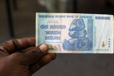 100 trillion Zimbabwean dollar