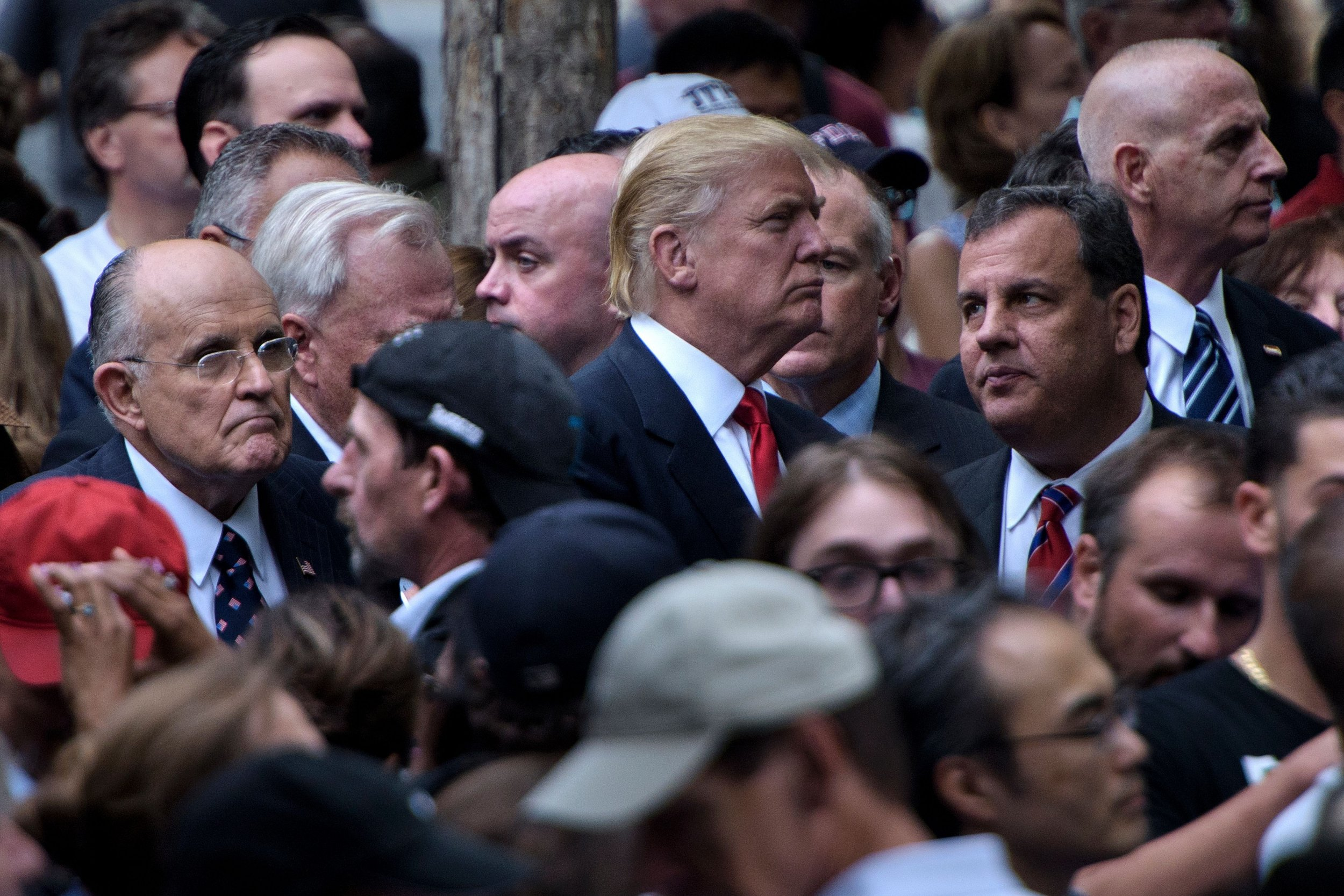 Trump, Giuliani and Christie