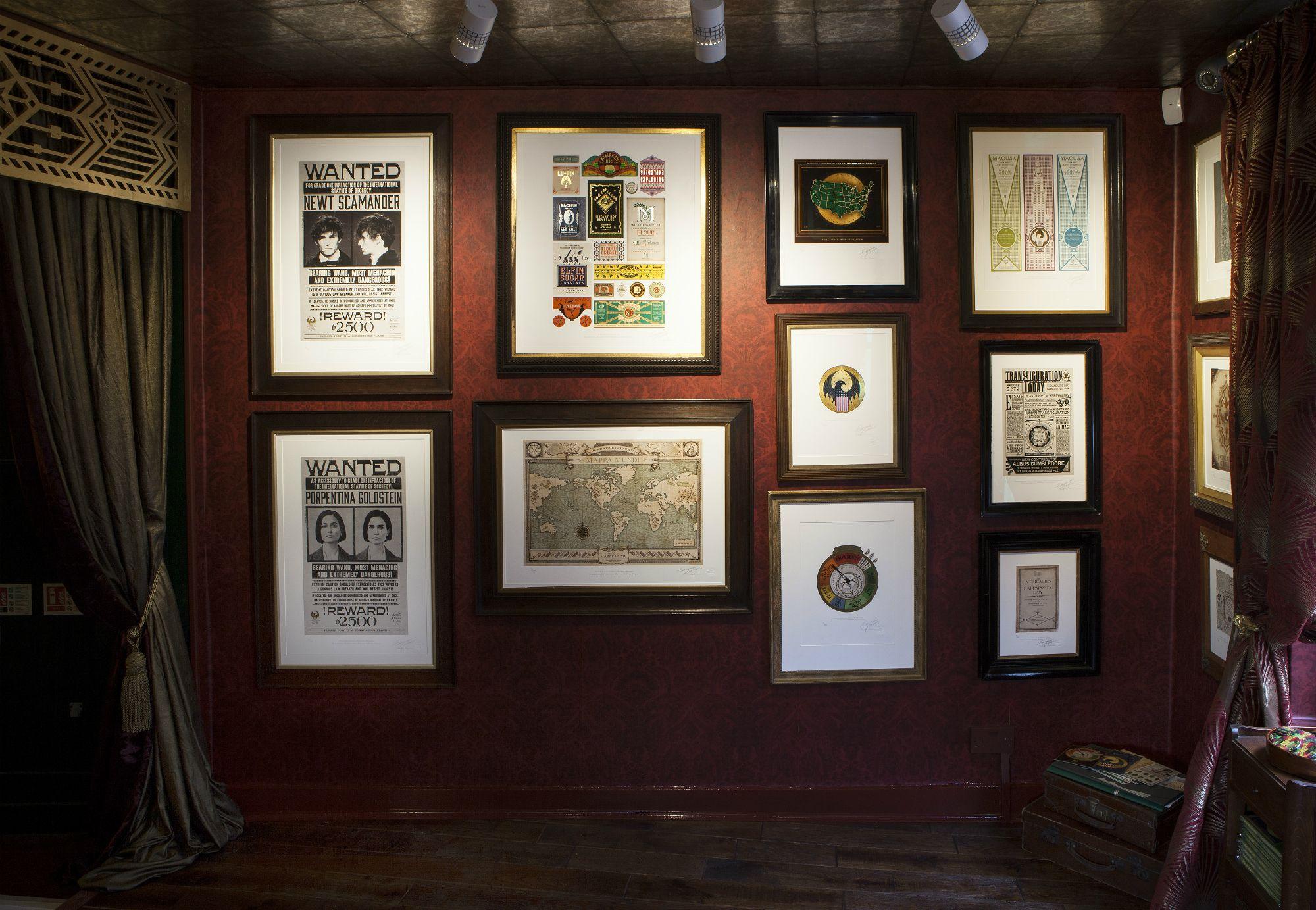 Fantastic Beasts exhibition - House of MinaLima