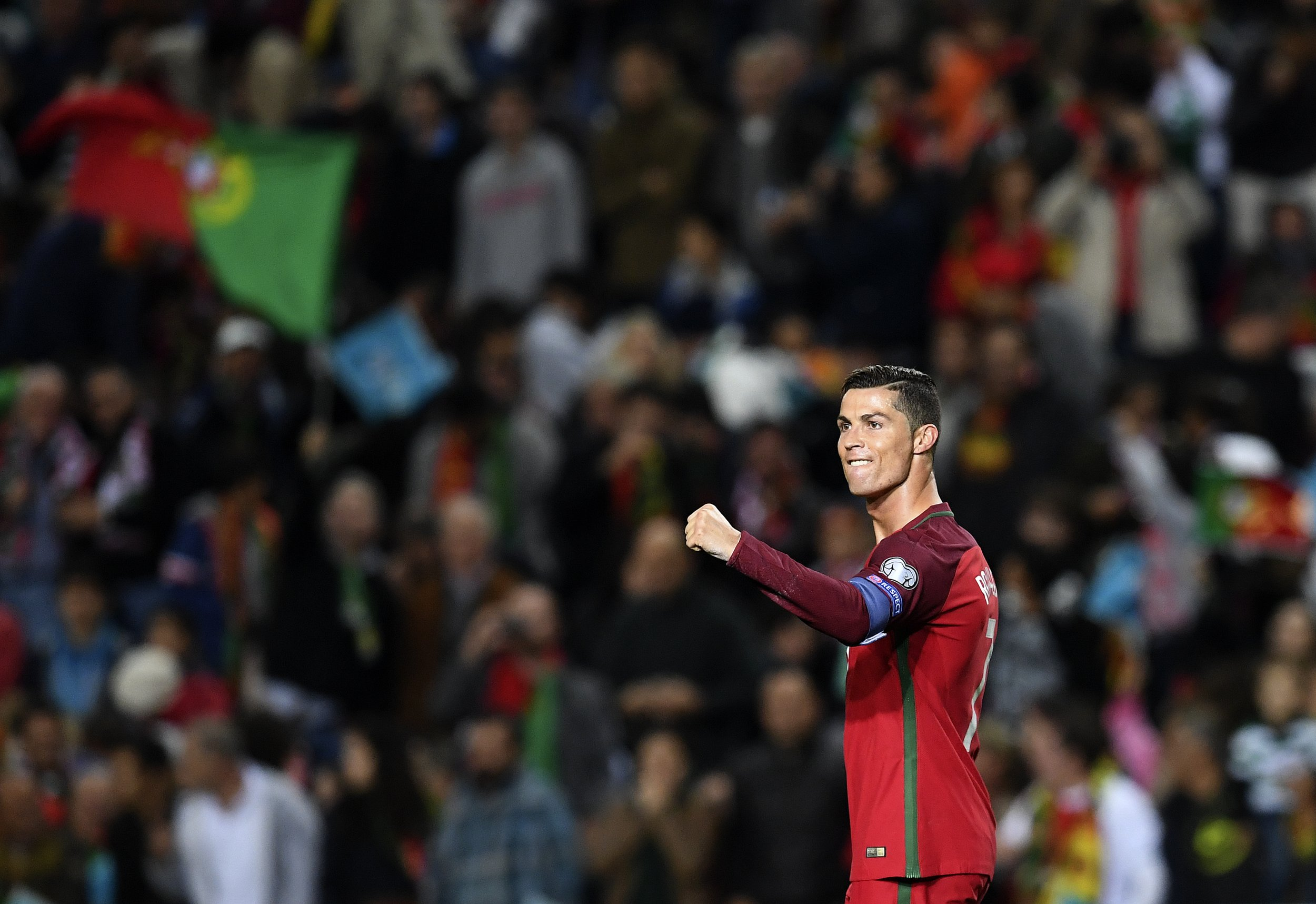 Real Madrid and Portugal star Cristiano Ronaldo
