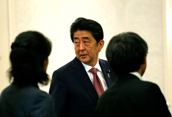 Japan PM Shinzo Abe