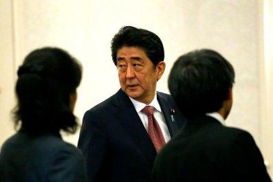 Japan PM Shinzo Abe