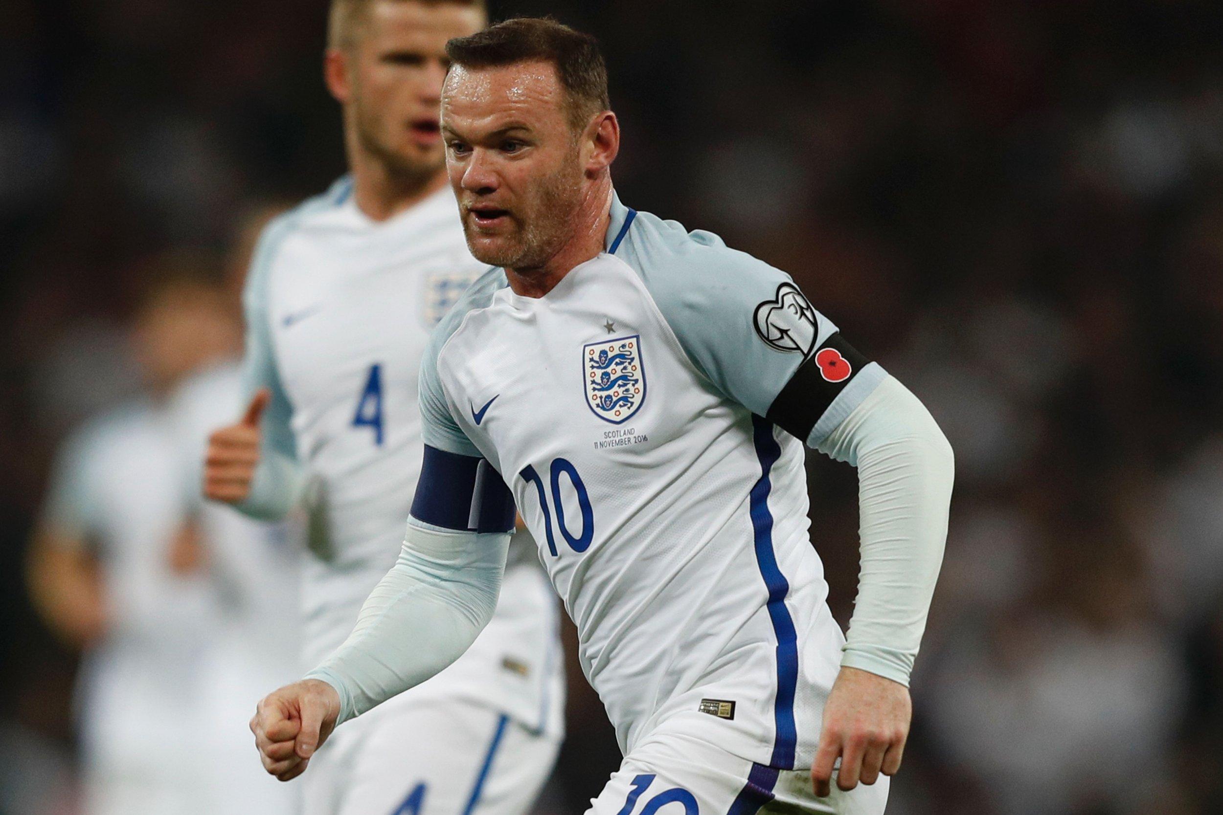 England captain Wayne Rooney