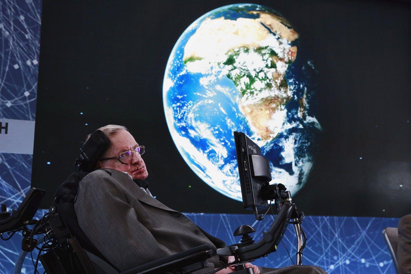 Stephen Hawking climate change threat