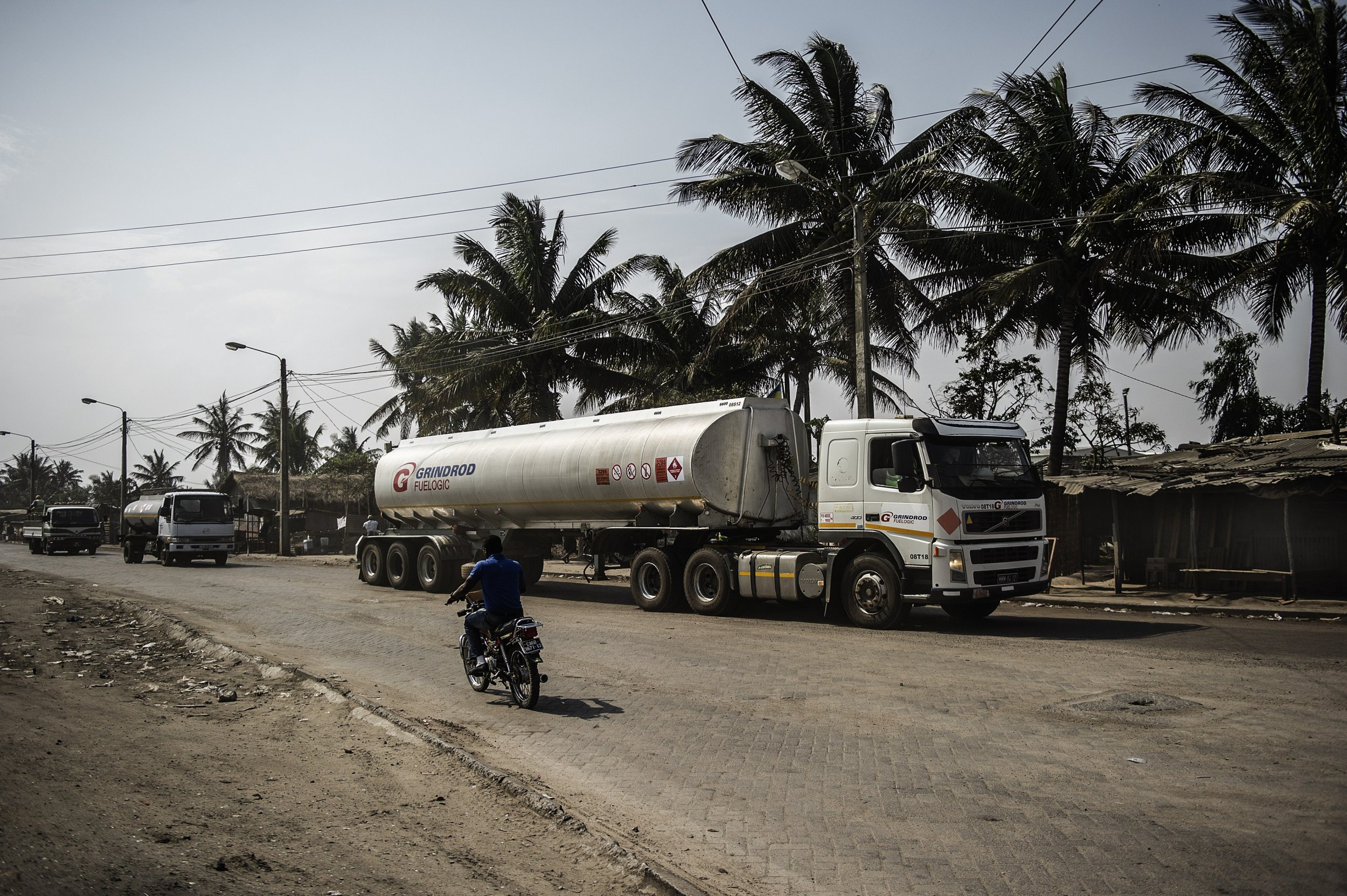 Mozambique fuel truck