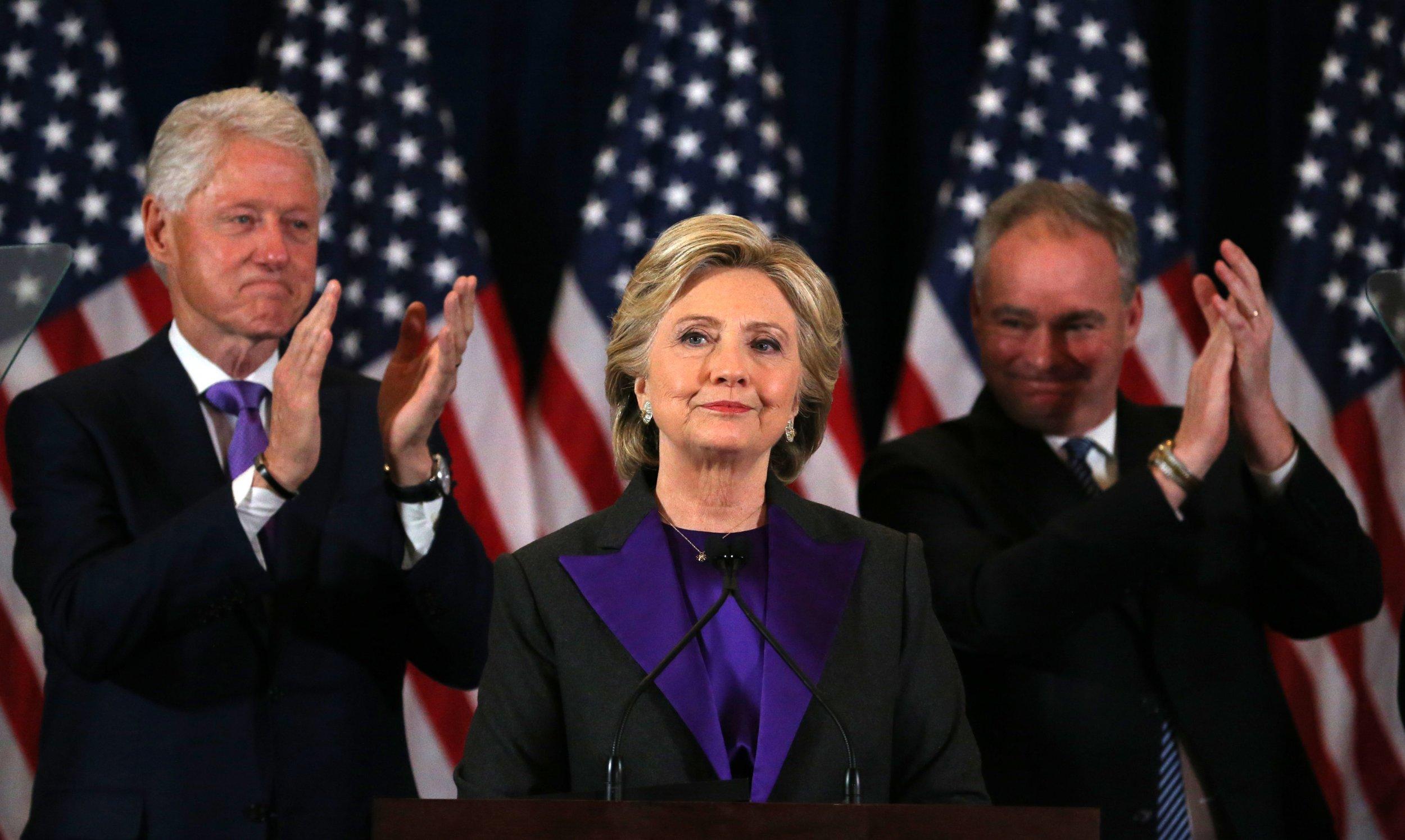 Hillary Clinton concession speech 2016