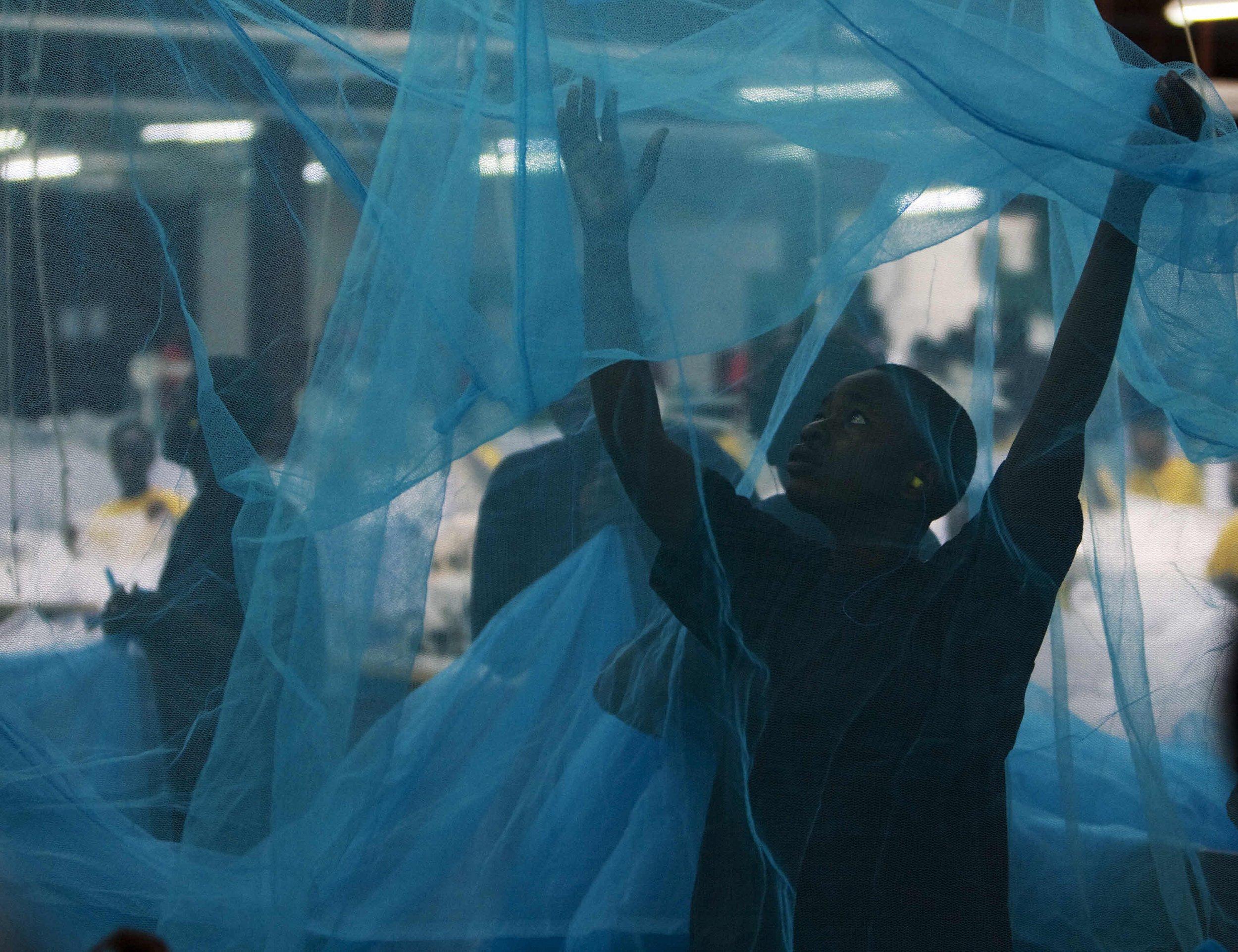 Malaria mosquito net