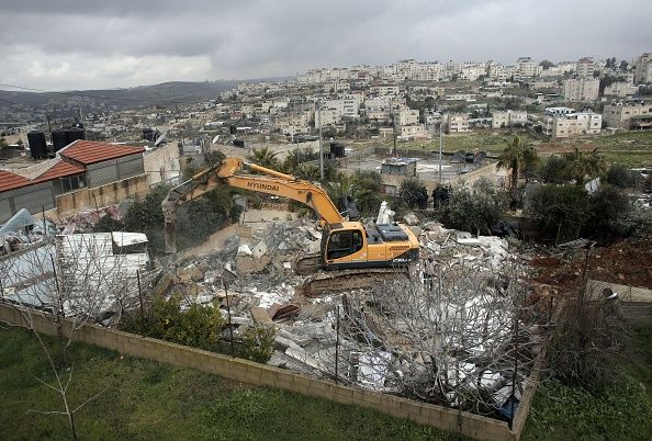 House demolition in East Jerusalem