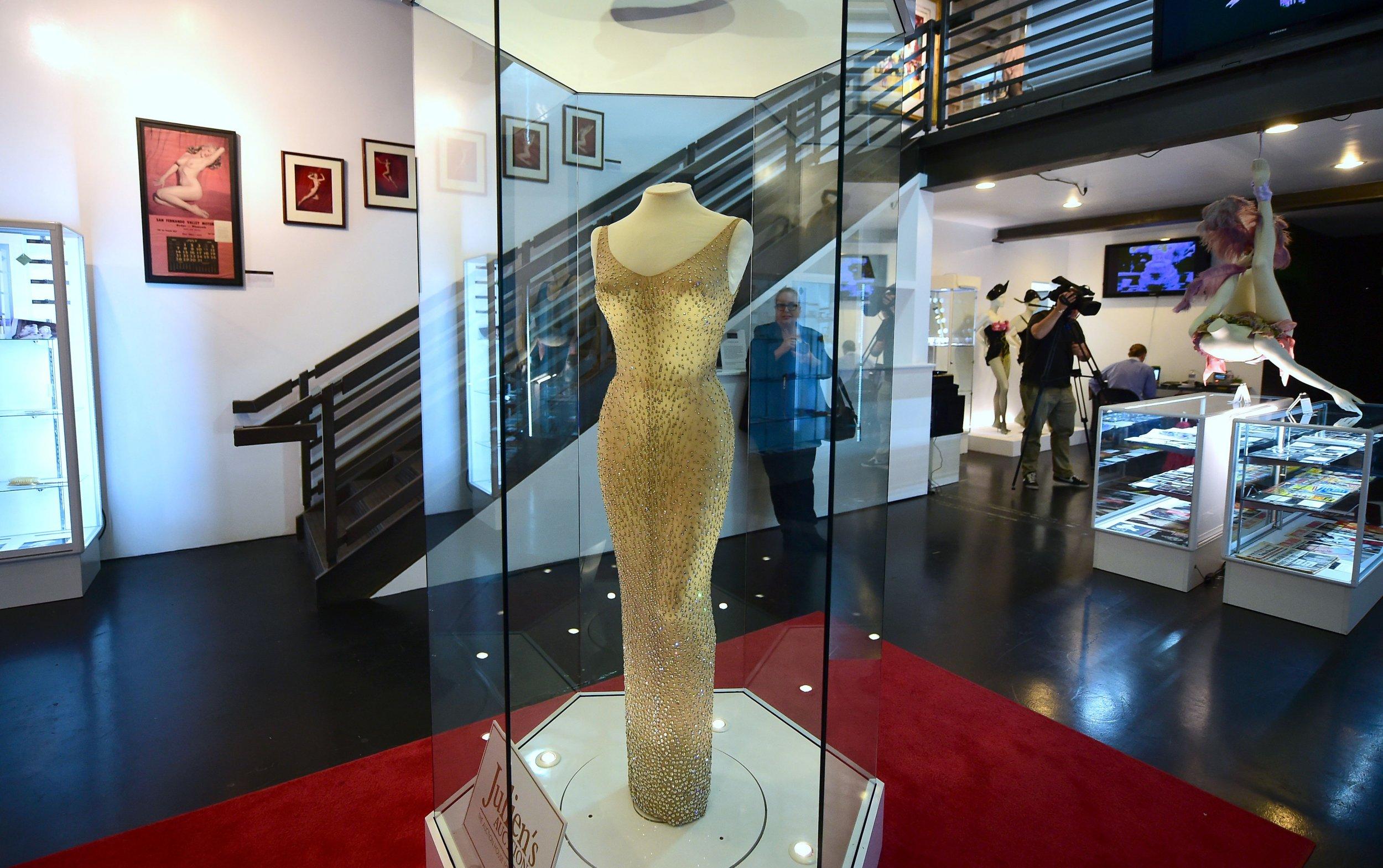 Marilyn Monroe's Mr. President dress