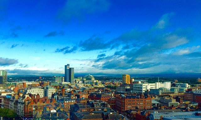 Manchester, northern England.
