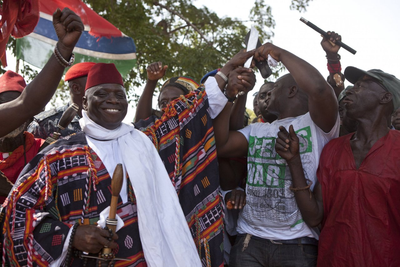 Yahya Jammeh, president of Gambia
