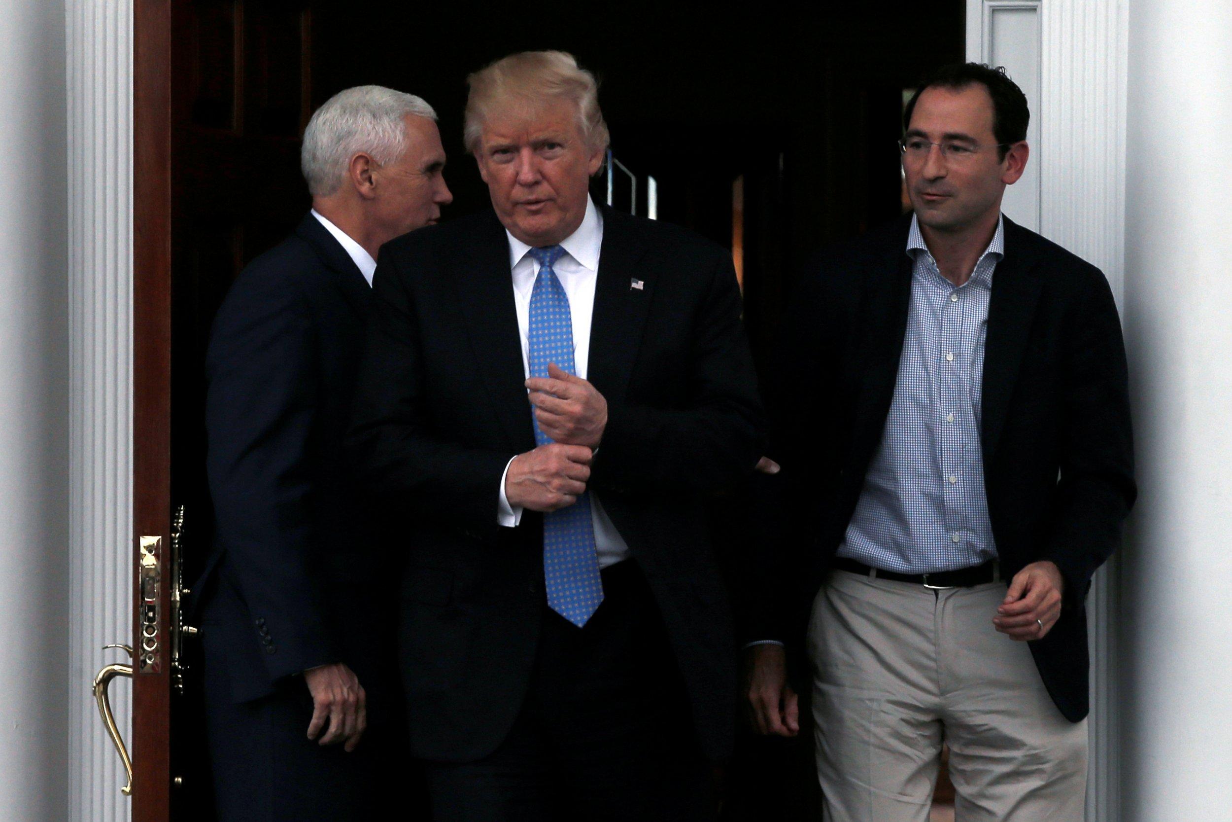 Jonathan Gray and Donald Trump