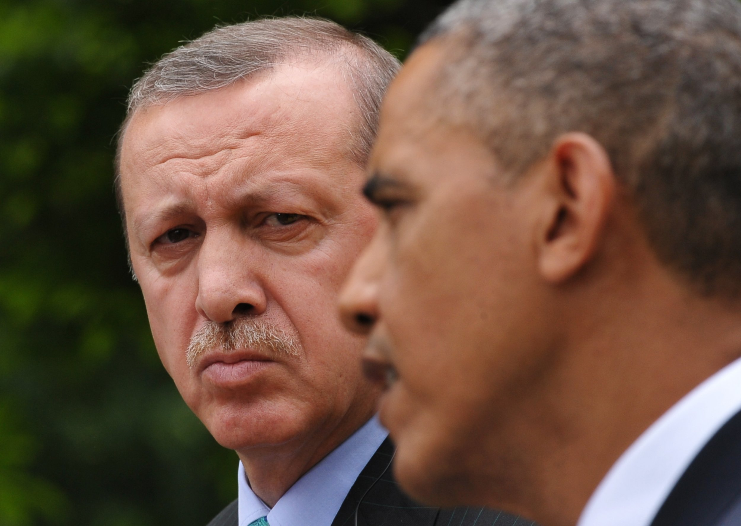 Recep Tayyip Erodgan and Barack Obama