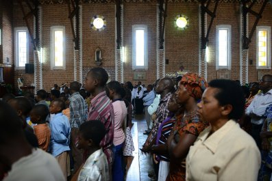 Catholic church Rwanda