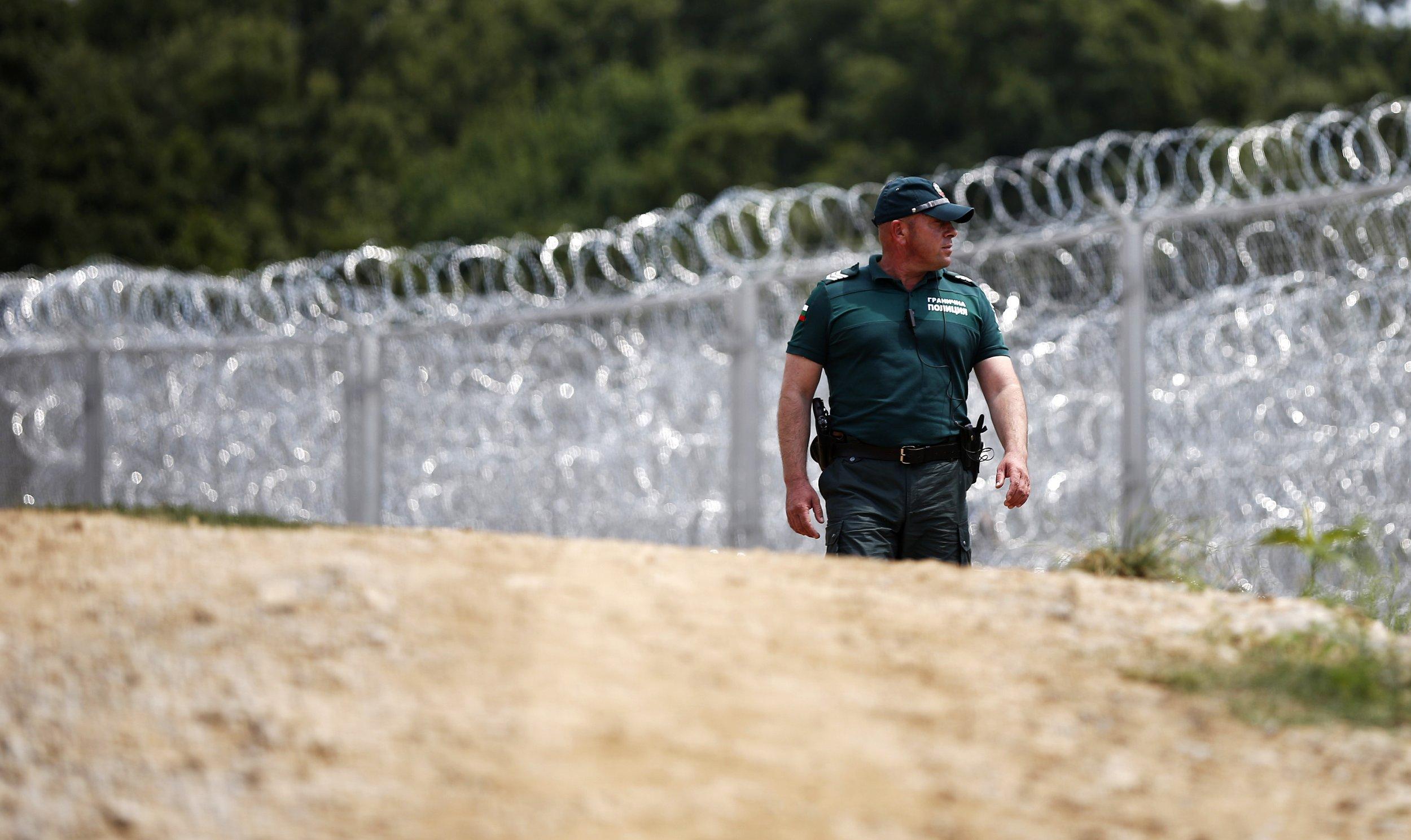 Bulgarian border police