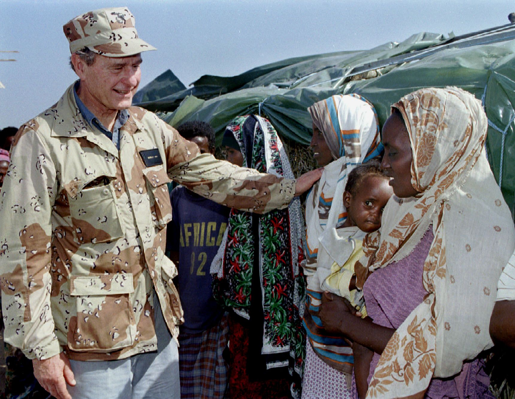 George Bush in Somalia