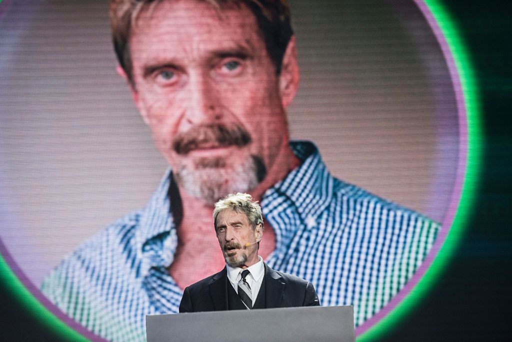 john mcafee anonymous donald trump