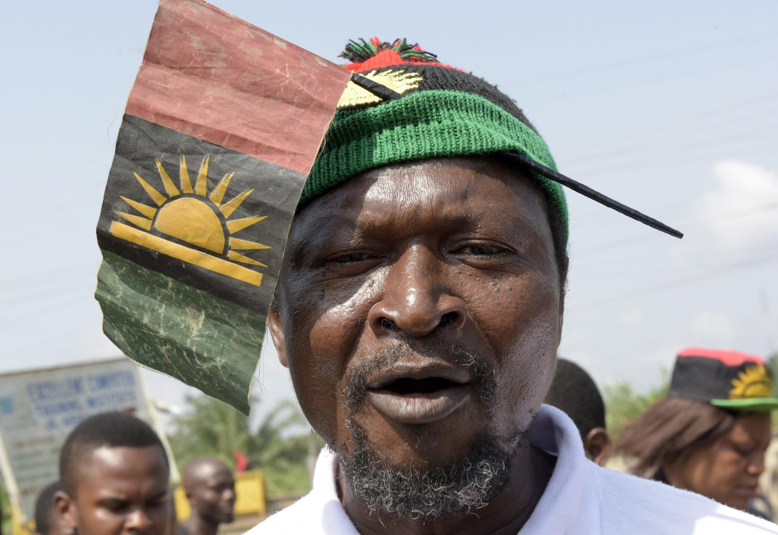 Pro-Biafra activist