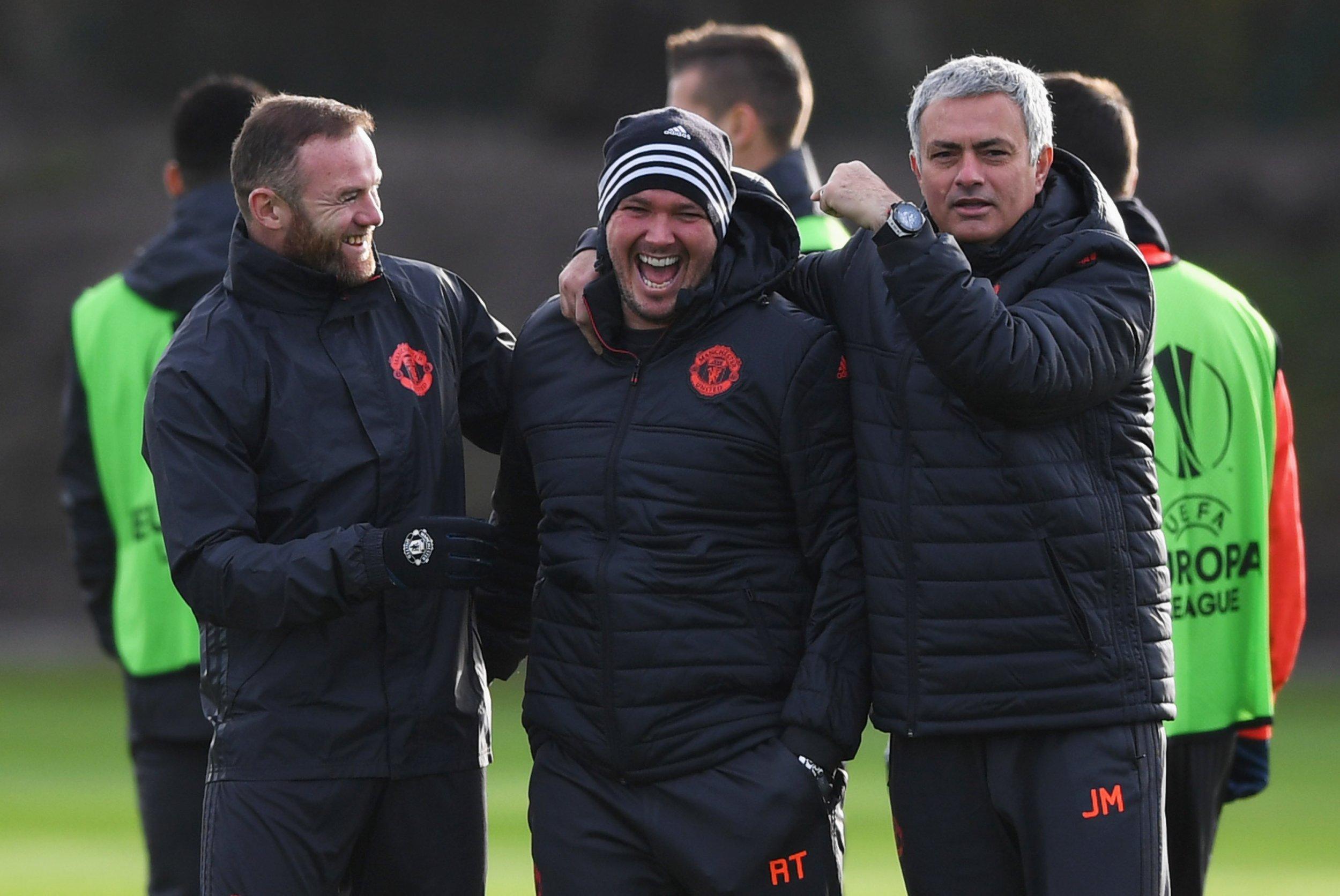 Rooney and Mourinho