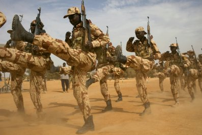 Niger military exercise