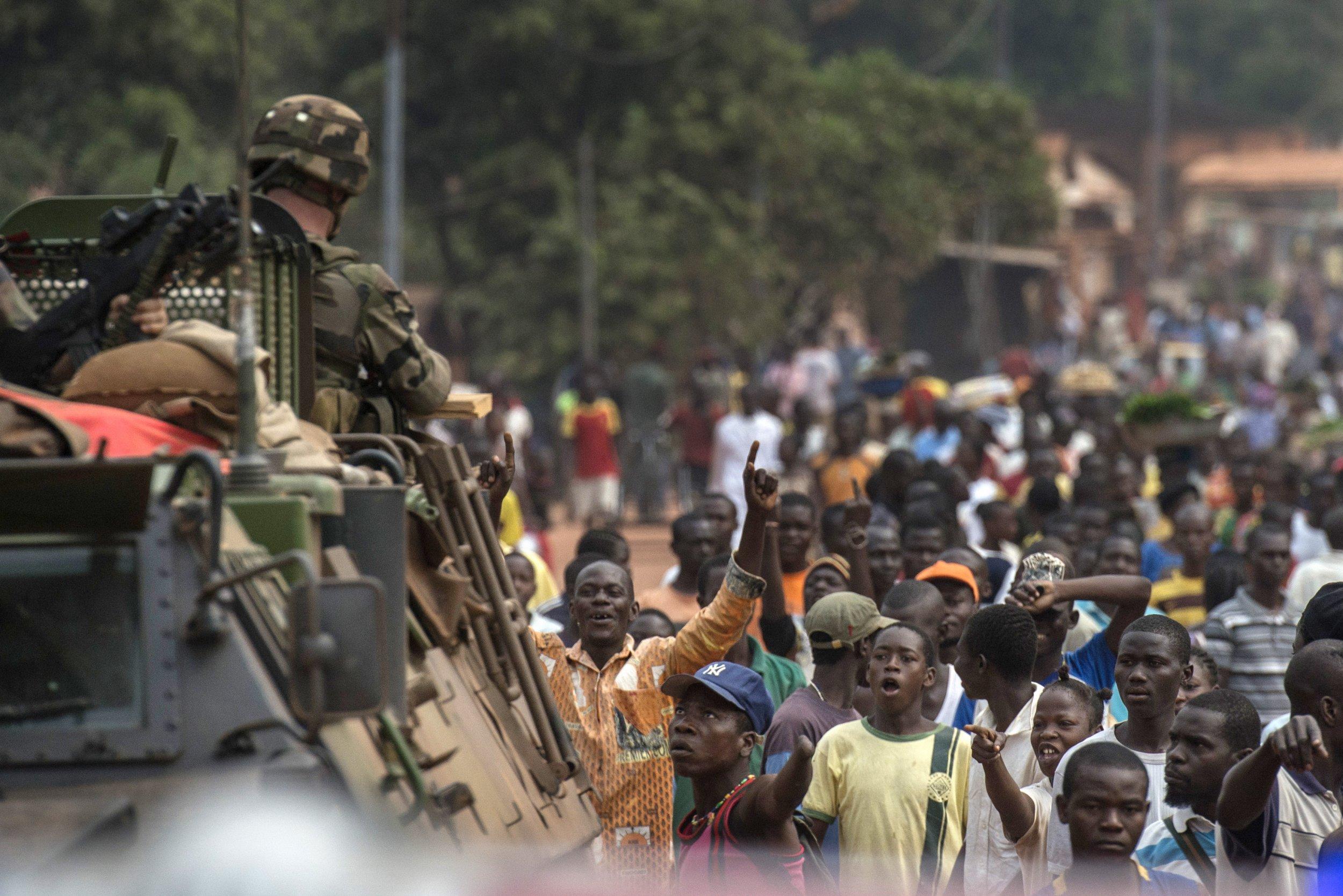 Central African Republic patrol