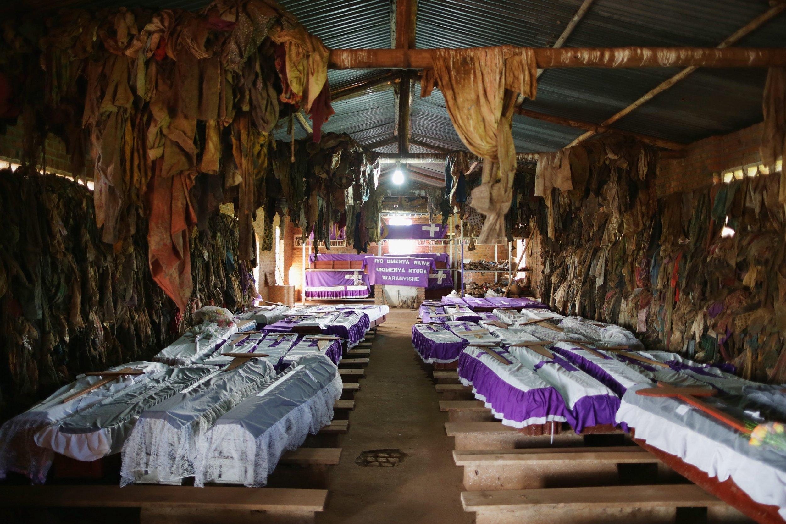 Rwandan genocide church