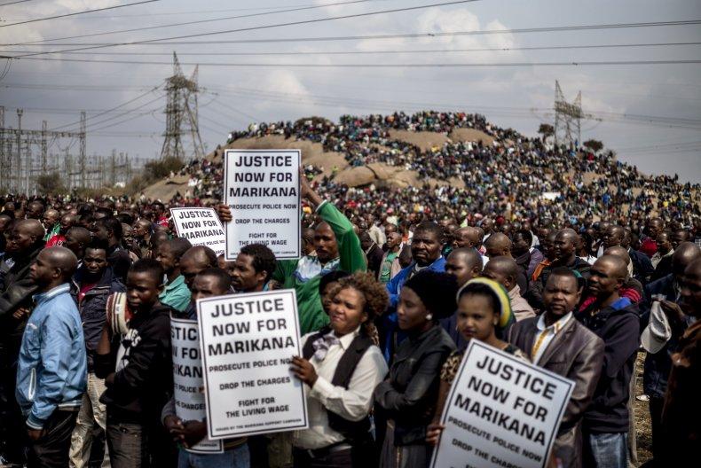 Marikana protest