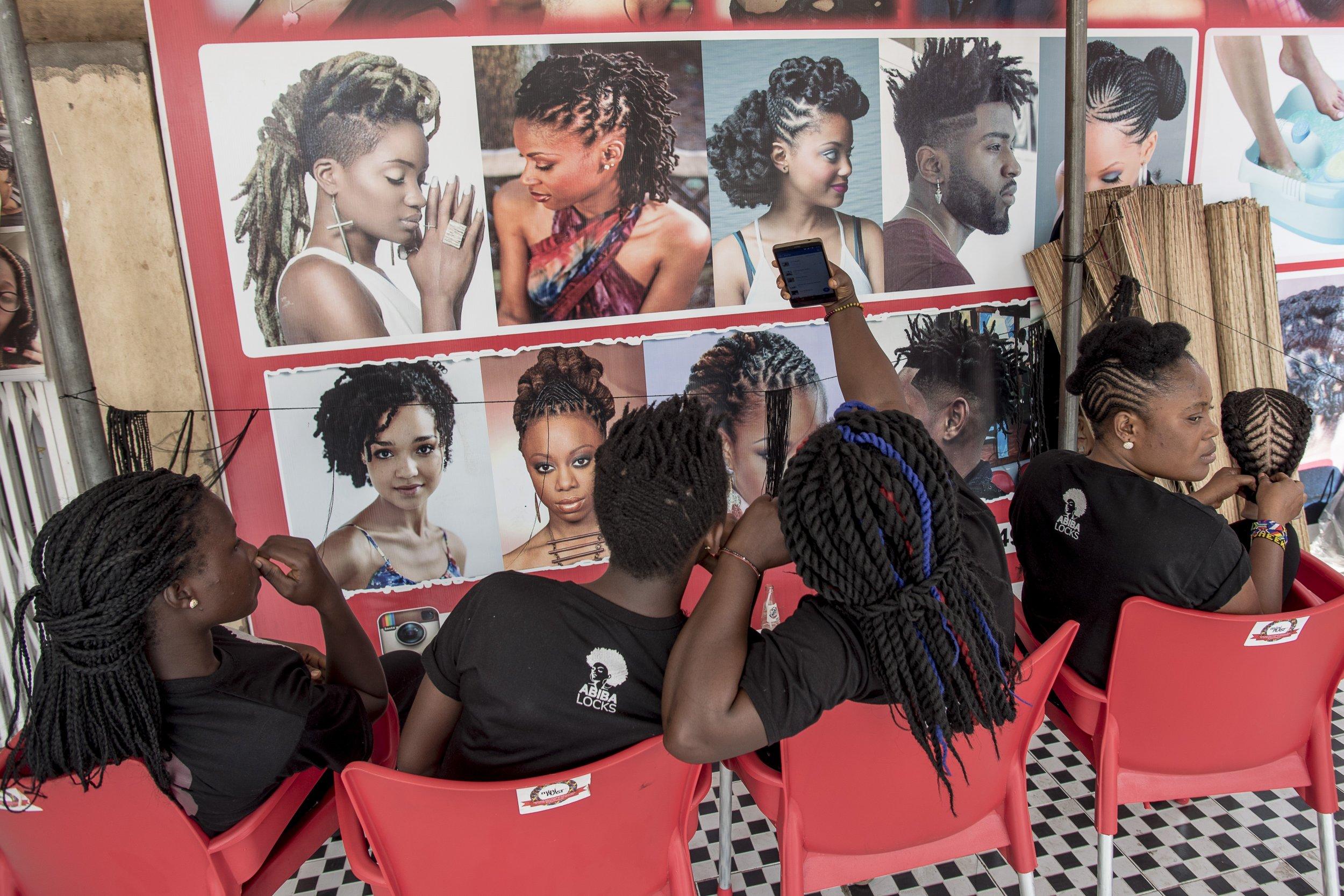 Tress africa hair app ghana