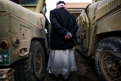 ISIS suspect near Mosul