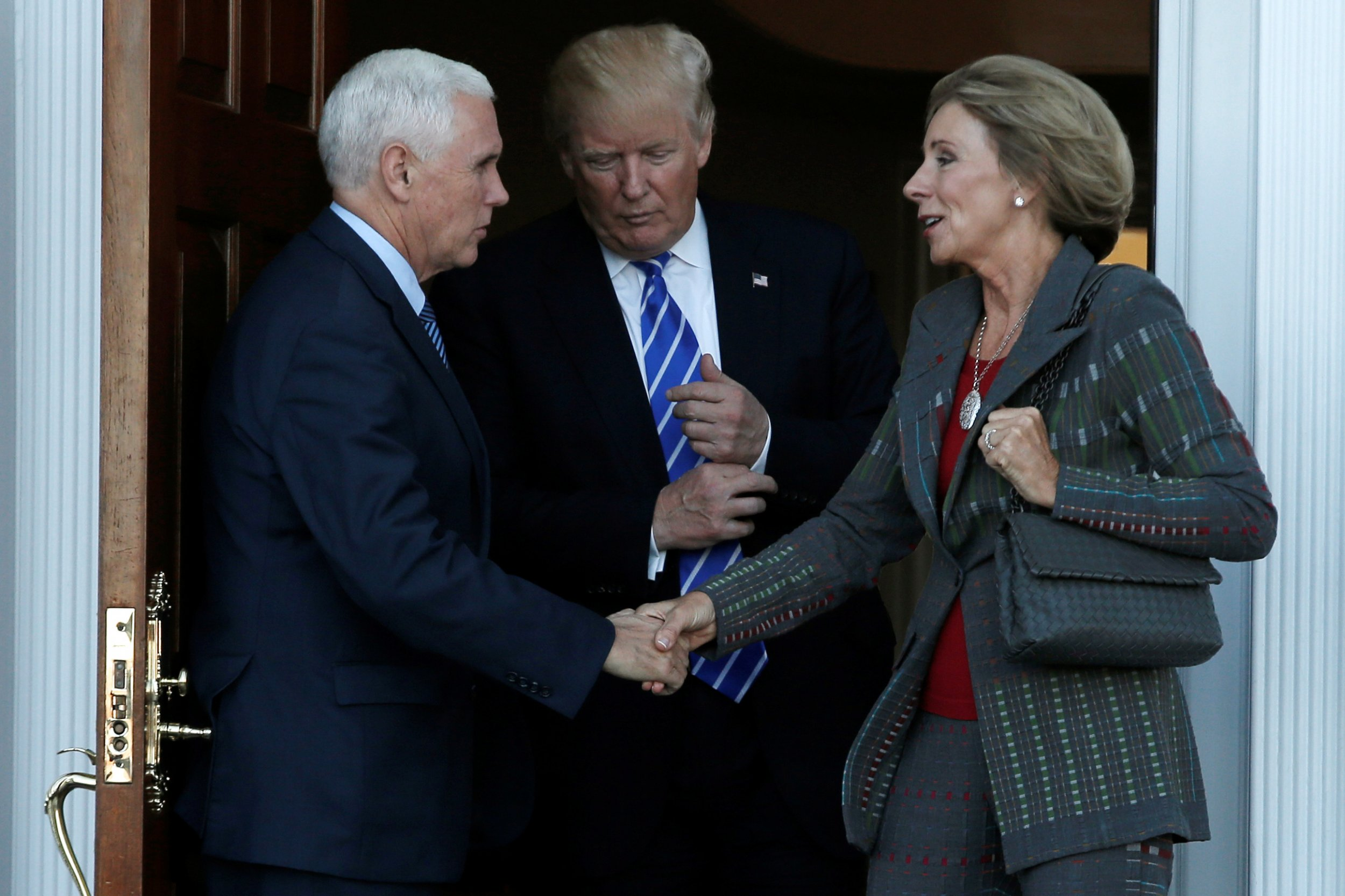 5 Reasons Why Trump Pick Betsy Devos Is >> Seven Things To Know About Education Pick Betsy Devos