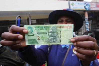 Zimbabwe bond notes