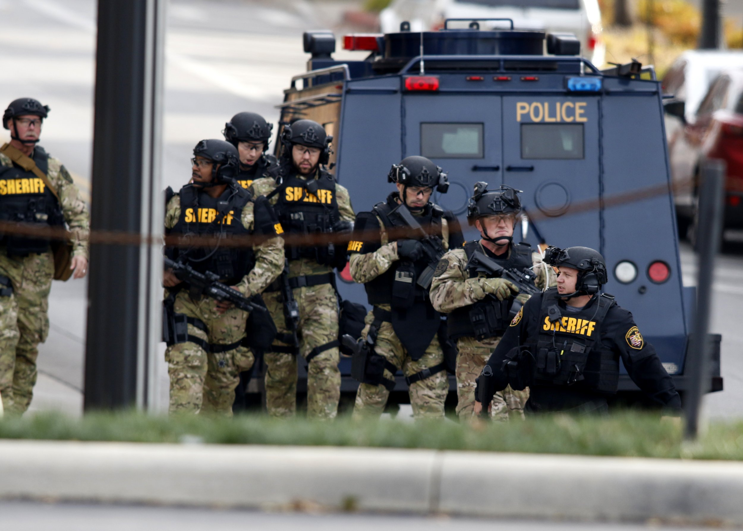 Police respond to attack on Ohio State campus
