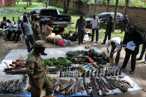 Uganda weapons cache