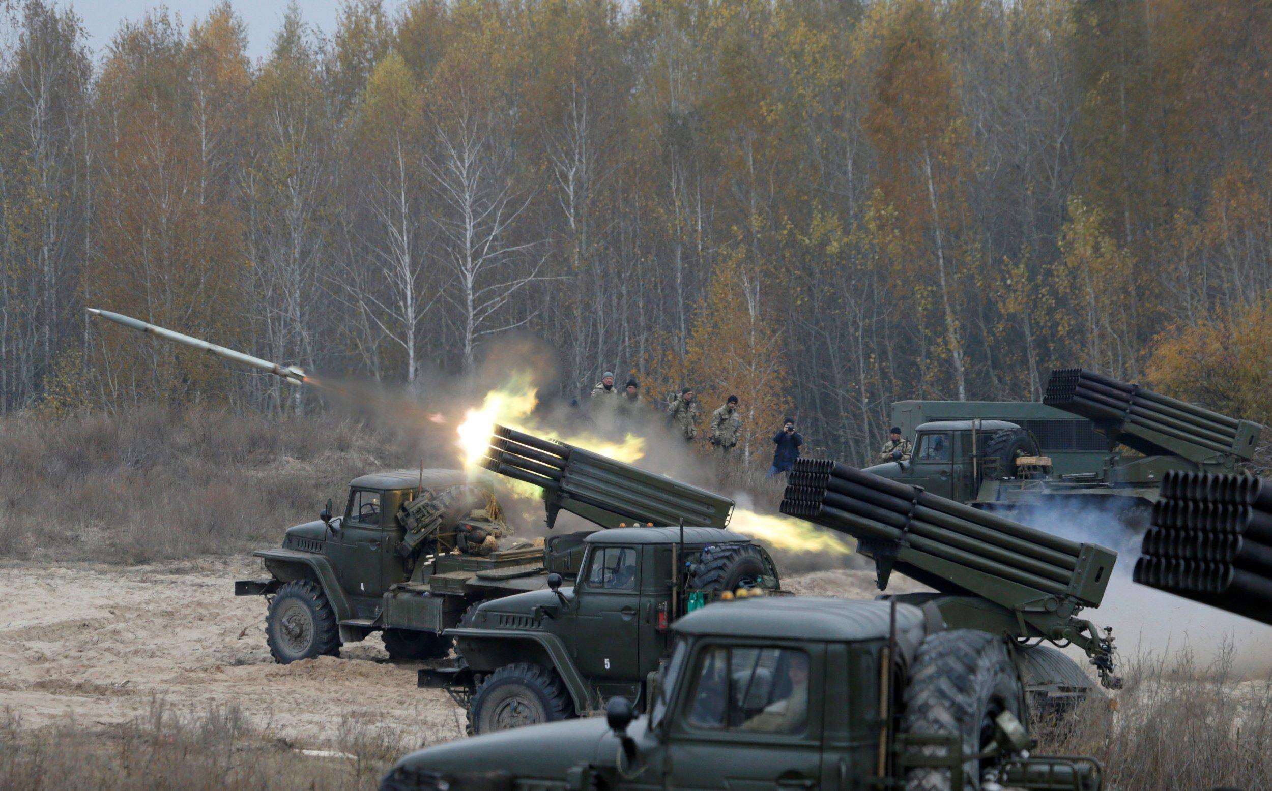 Ukrainian rockets