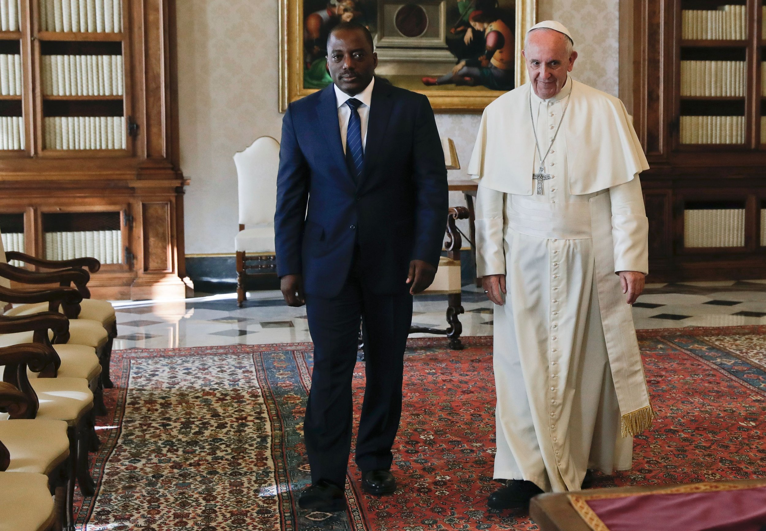 Kabila and Pope Francis