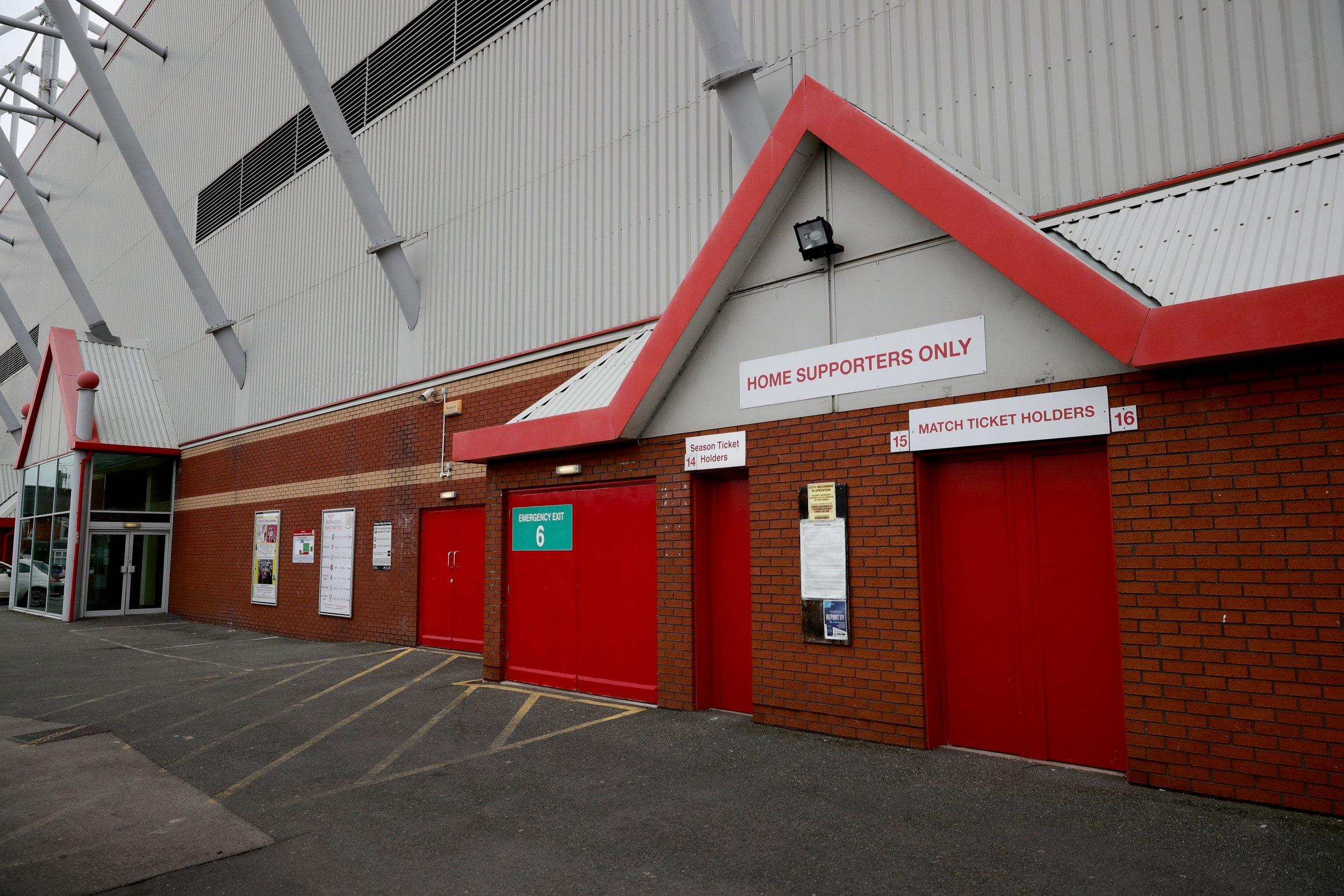 Alexandra Stadium, Crewe, England, November 30.